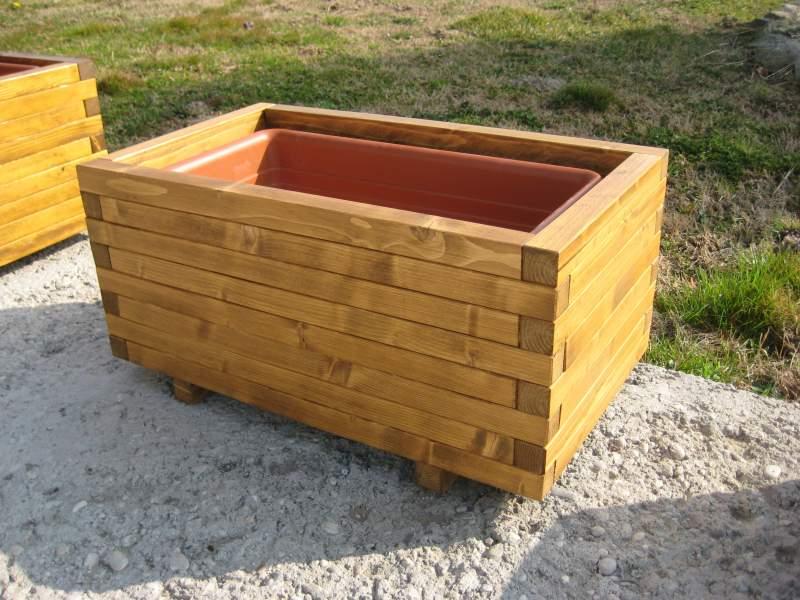 Fioriere in legno com pi legno condino trento for Vasi in terracotta prezzi